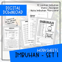 Worksheets - IMBUHAN SET 1 (Digital Download)