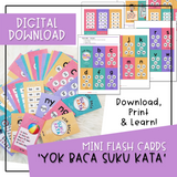 Flash Cards - Yok Baca Suku Kata (Digital Download)