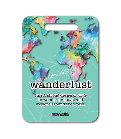 LW2010 - Wanderlust Series Bag Tag *Exclusive!