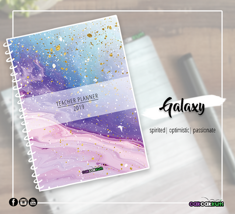 THE 2019 TEACHER PLANNER | GALAXY