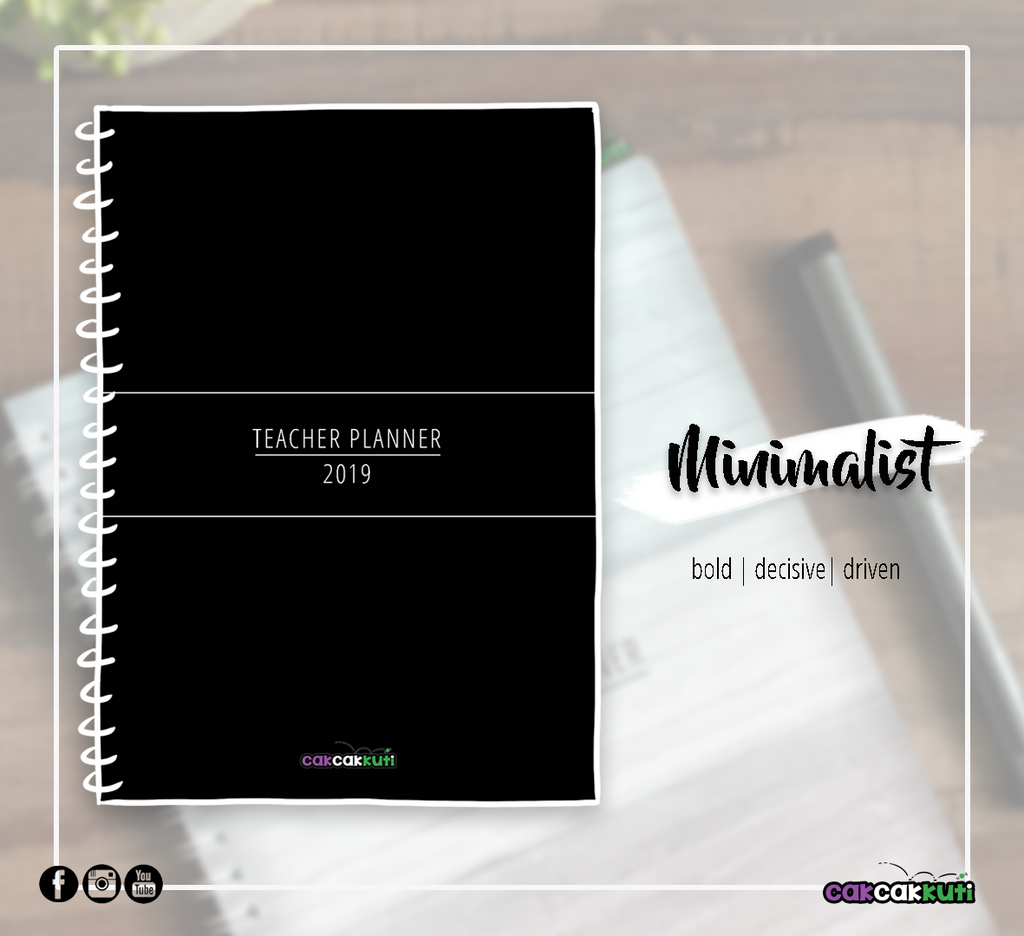 THE 2019 TEACHER PLANNER | MINIMALIST