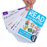 Read and Master! English Phonics Flashcards Set
