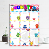 P2003 - BIRTHDAY MONSTERS POSTER
