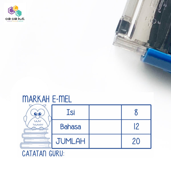 S1023 - Self-Inking Stamp (E-mel - with marks)