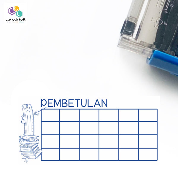 S1027 - Self-Inking Stamp (Kotak Pembetulan)