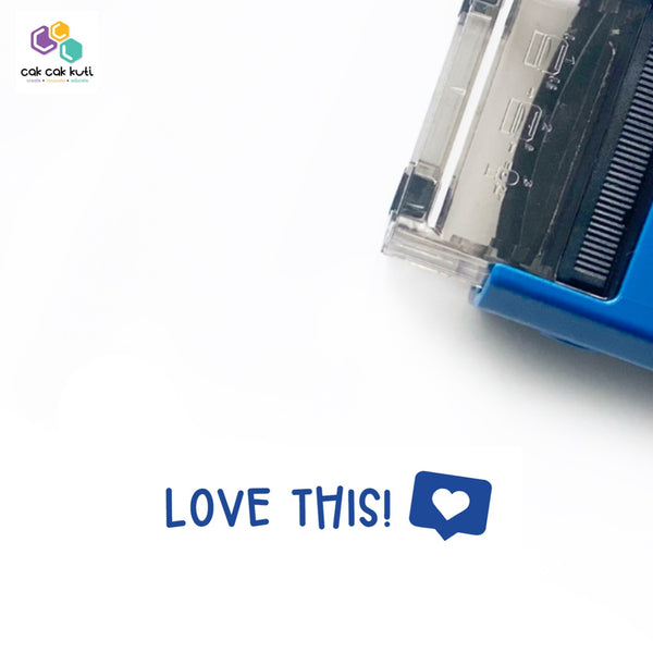 S2027 - Self-Inking Stamp (Love This!)