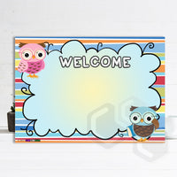 P2002 - WELCOME OWLS POSTER