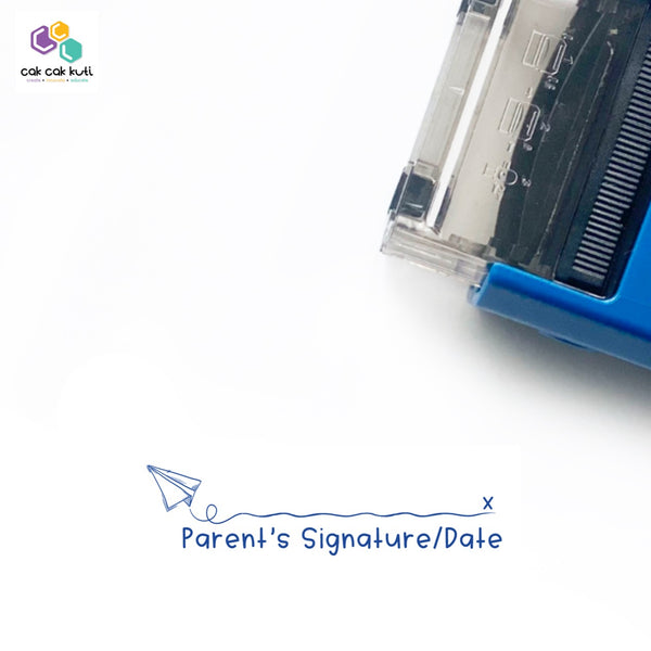 S2030 - Self-Inking Stamp (Parent's Signature)