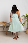 Mint Foam Tie-up Dress