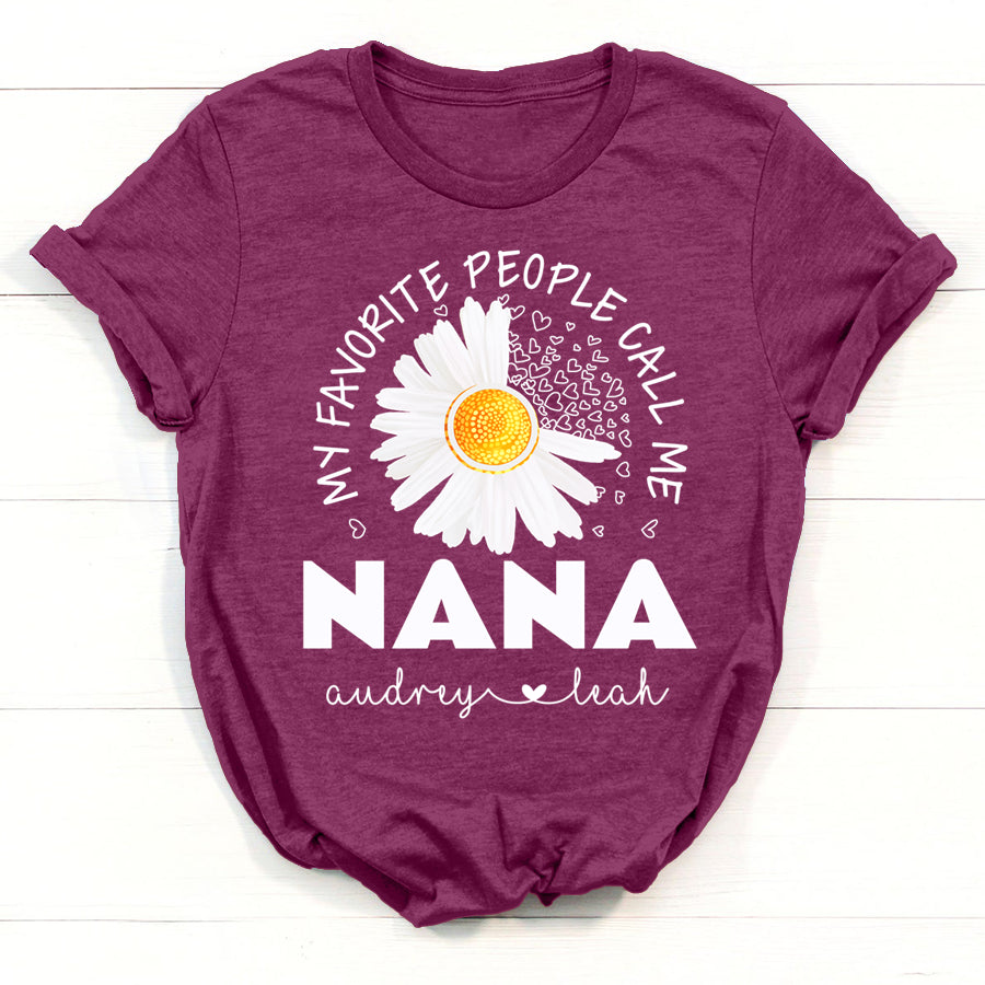 mother/'s day gifts for nana Christmas gift for nana nana sign nana gifts birthday gift for nana 46 my favorite people call me nana