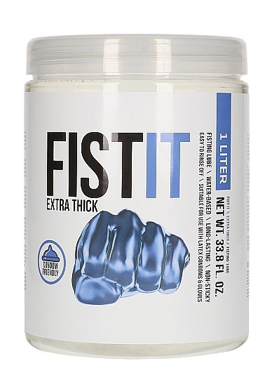 Fist It Extra Thick Water Based Lubricant 1000 ml / 33.81 fl oz