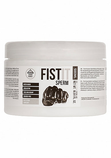 Fist It Sperm Water Based Lubricant 500 ml / 16.9 fl oz