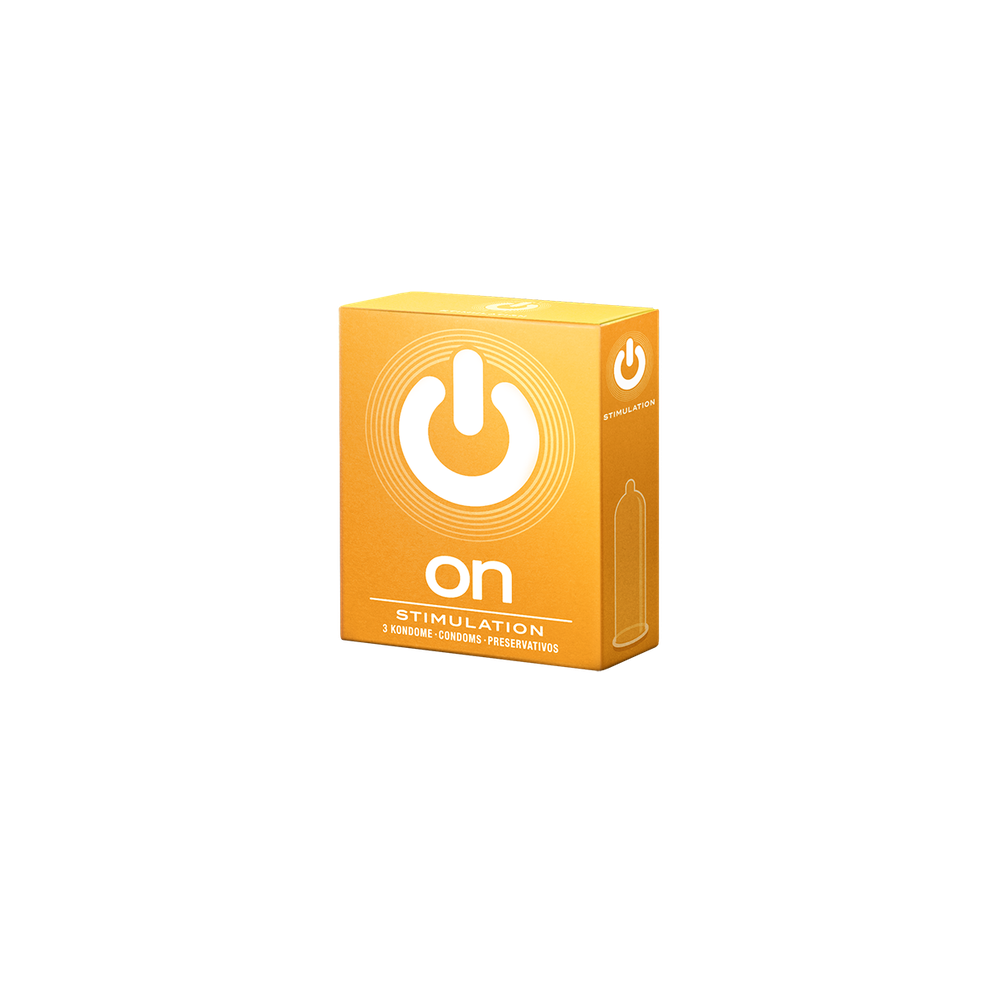 On Condoms - Stimulation - Pack of 100
