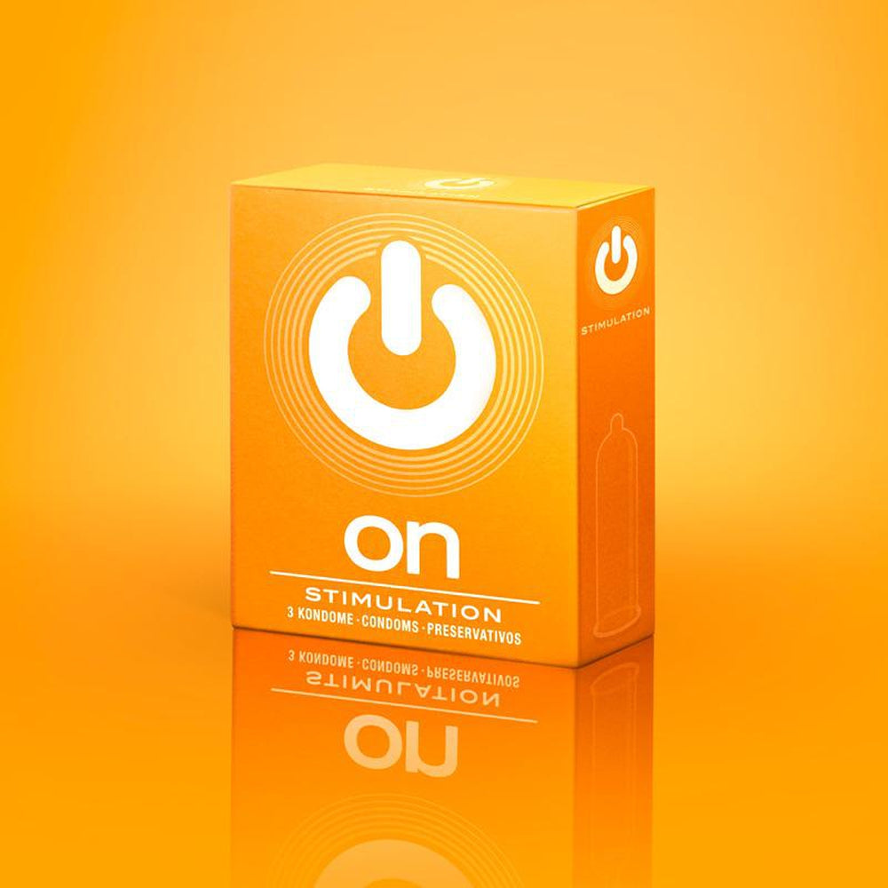 On Condoms - Stimulation - Pack of 3