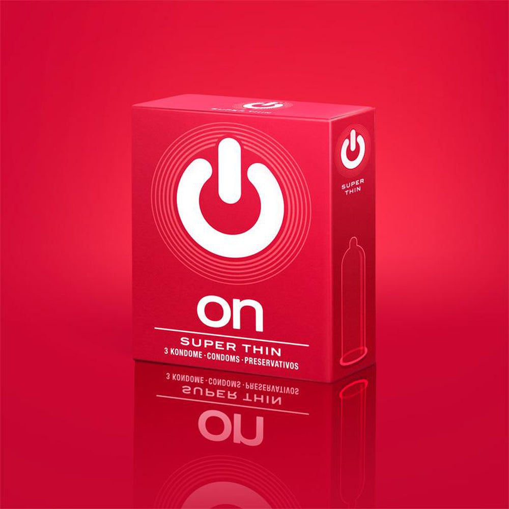 On Condoms - Super Thin - Pack of 3