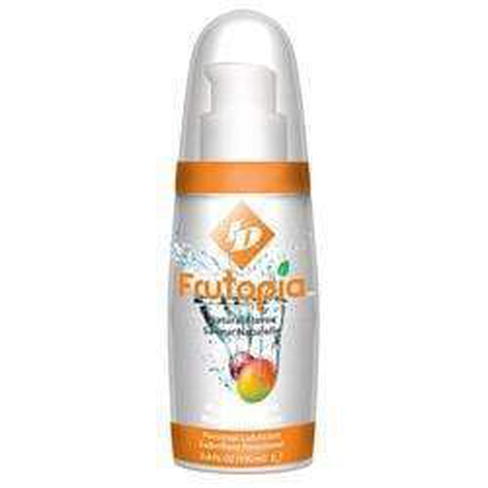 ID Frutopia Pump Mango Flavour Water Based Lubricant 100 ml / 3.38 fl oz - The Condom People