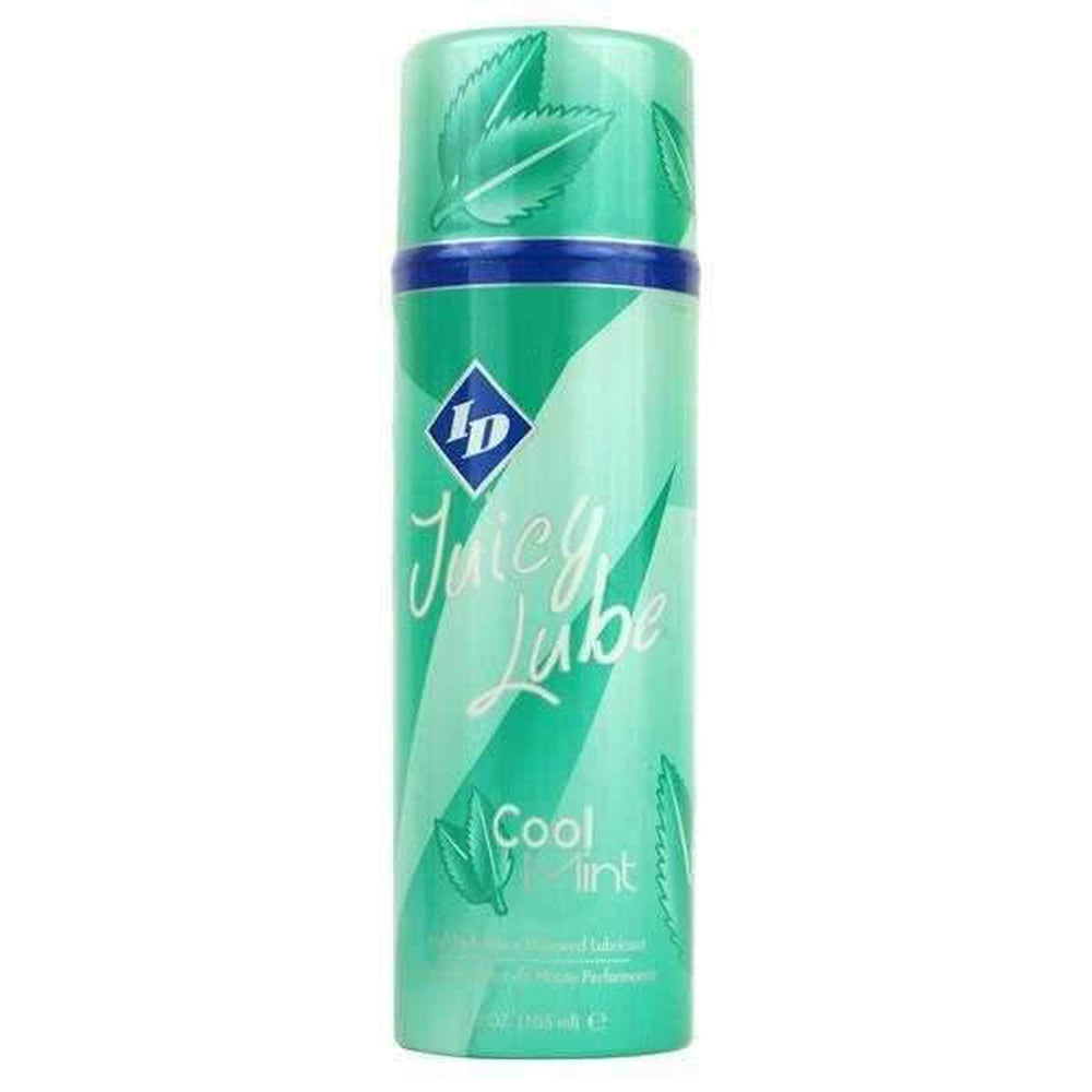 ID Juicy Lube Pump Cool Mint Water Based Lubricant 108 ml / 3.65 fl oz - The Condom People