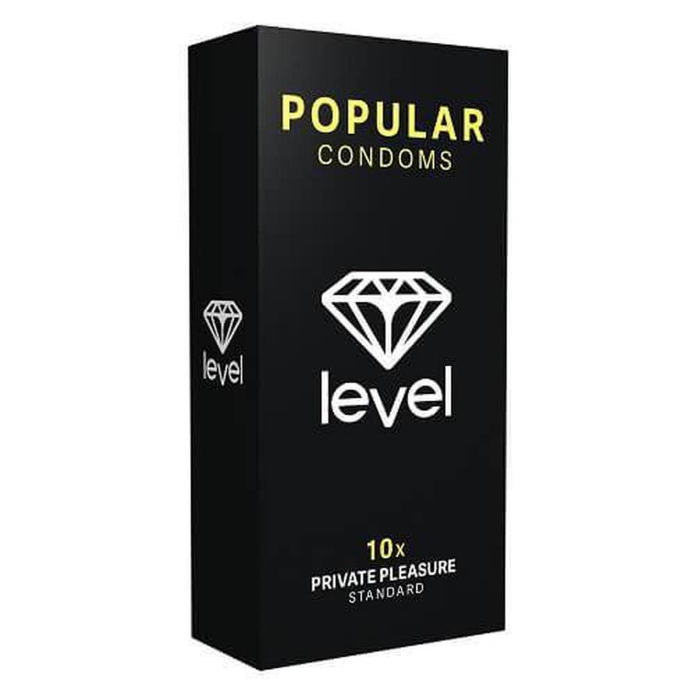 Level Popular Condoms 10 Pack - The Condom People