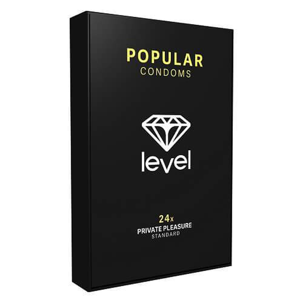 Level Popular Condoms 24 Pack - The Condom People