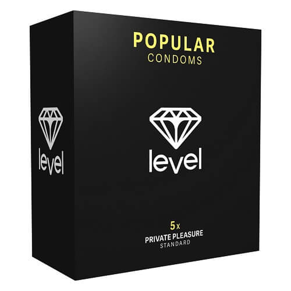 Level Popular Condoms 5 Pack - The Condom People