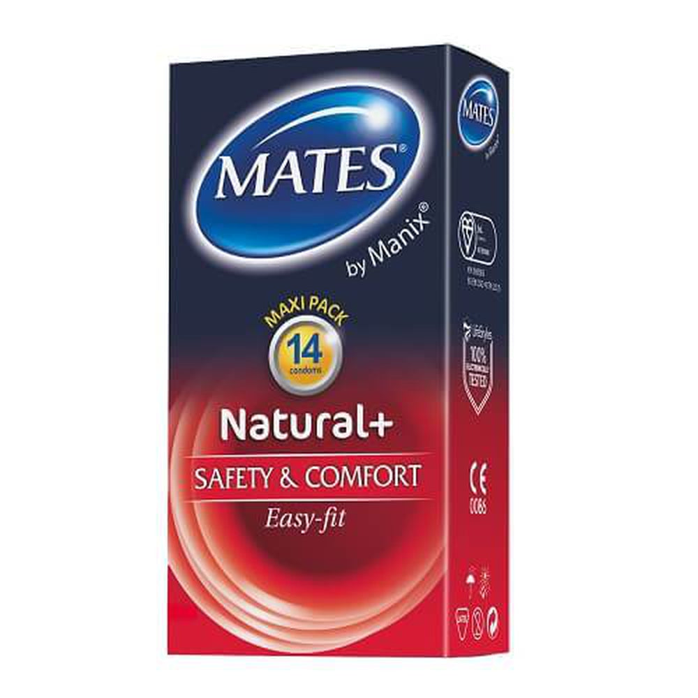 Mates Natural Condoms 14 Pack - The Condom People