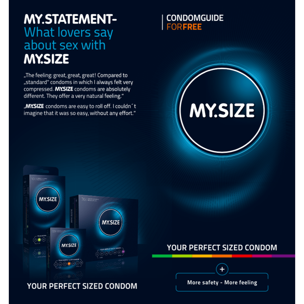 My Size - Measure your Penis Free Guide - The Condom People