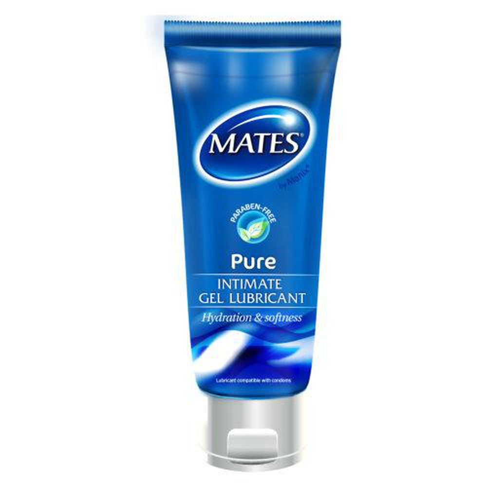 Mates Pure Gel Lubricant 200ml | The Condom People