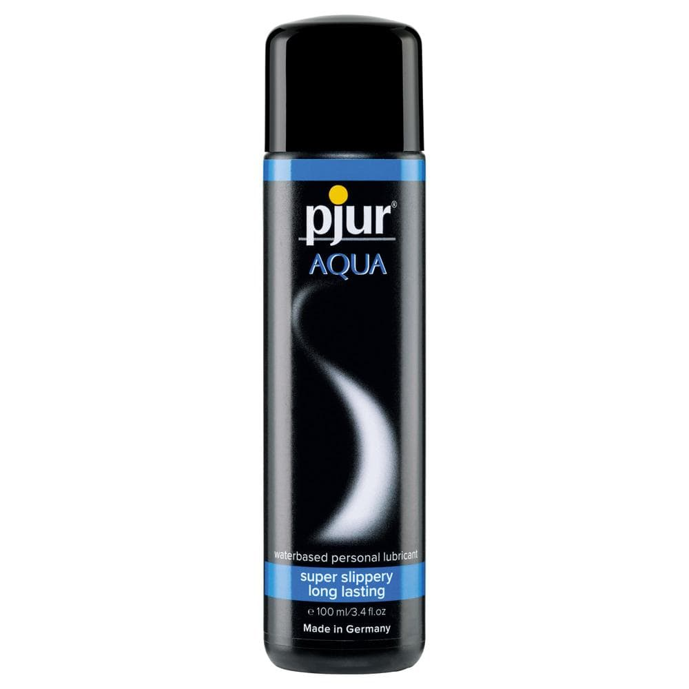 Pjur Aqua Water Based Lubricant 100 ml / 3.38 fl oz - The Condom People