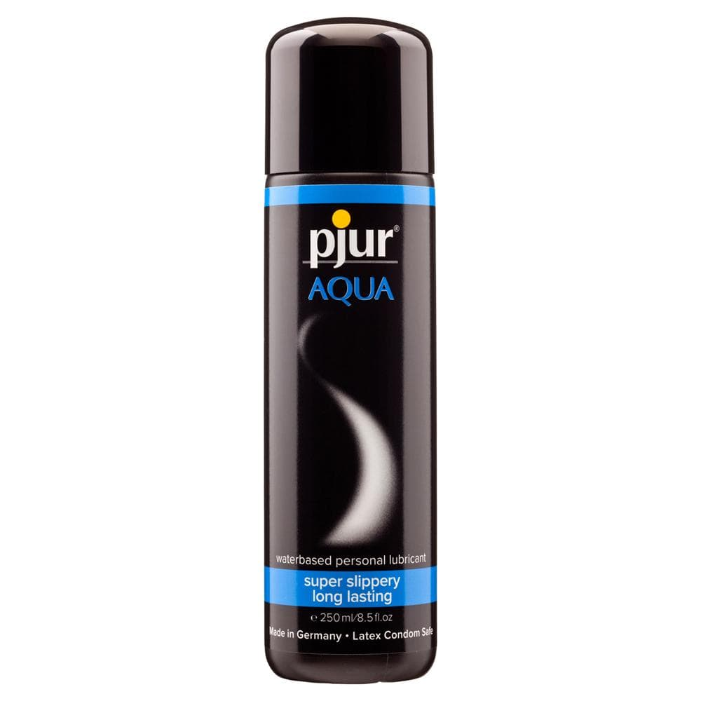 Pjur Aqua Water Based Lubricant 250 ml / 8.45 fl oz - The Condom People