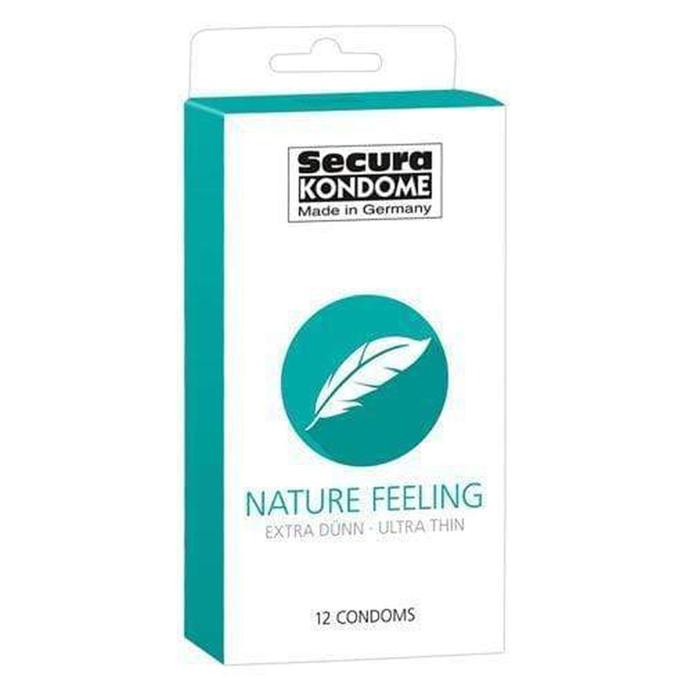 Secura Kondome Nature Feeling Ultra Thin Condoms Pack of 12 - The Condom People