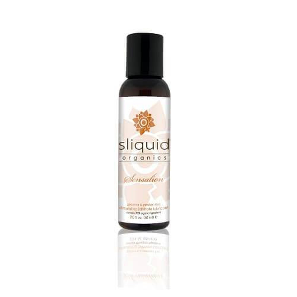 Sliquid Organics Sensations Stimulating Lubricant 59 ml / 2 fl oz - The Condom People