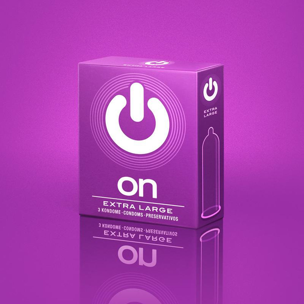 On Condoms - Extra Large - Pack of 100