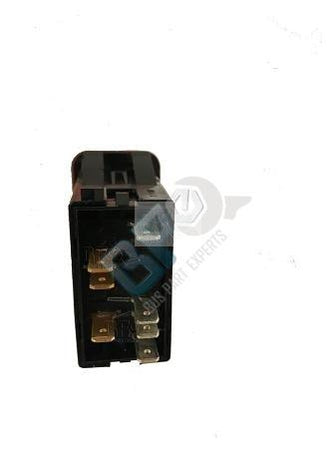 A06 49957 002 THOMAS C2 RED DOOR SWITCH 7 BLADE TERMINAL - buspartexperts.com