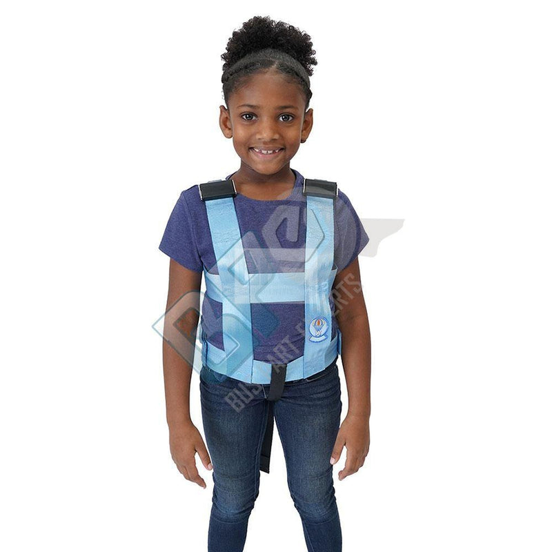 103Z/B-M EZ-ON VEST - MEDIUM- 3 ZIP - VEST ONLY - buspartexperts.com