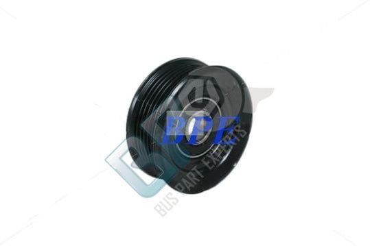 50-62051-00           MOBILE CLIMATE CONTROL IDLER PULLEY IS A SINGLE POLY V, 6 GROOVE PULLEY - buspartexperts.com