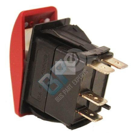 52003723 ROCKER SWITCH--WARNING - buspartexperts.com