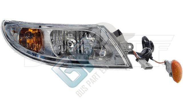 888-5105 INTERNATIONAL HEADLAMP ASSEMBLY RIGHT SIDE - buspartexperts.com