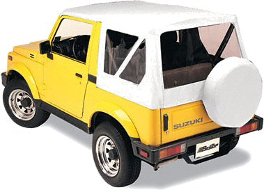 Bestop WHITE OE Replacement Softop Suzuki Samurai-0
