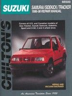 Chilton Sidekick/Samurai/Tracker Manual-0
