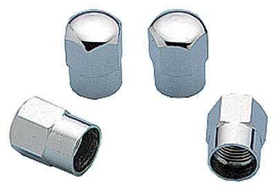 Valve Stem Caps - Set of Four Chrome