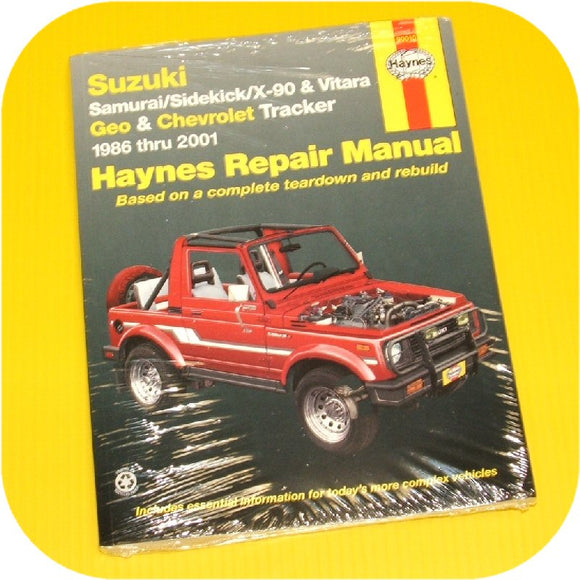 Haynes Repair Manual: 86-96 Samurai-0