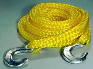 Keeper Recovery Tow Rope: 13' X 5/8