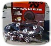 K&N Air Filter for Stock Air Cleaner for Suzuki Samurai-0