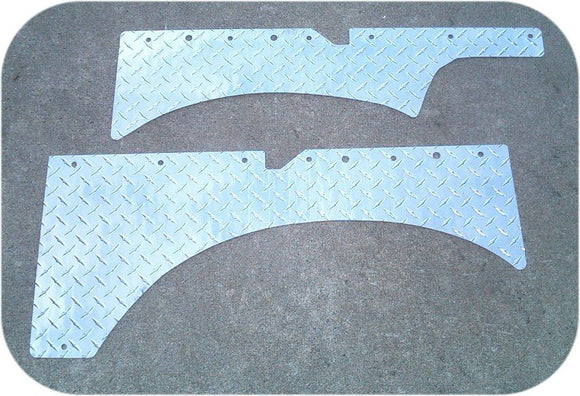 Soft Top Suzuki Samurai Diamond Plate Cargo Panel Set-0