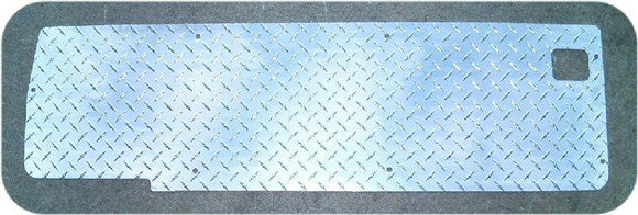 Soft Top Suzuki Samurai Diamond Plate Tail Gate Panel-0