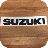 Black Suzuki Samurai Tailgate Sticker Decal 87-95-0