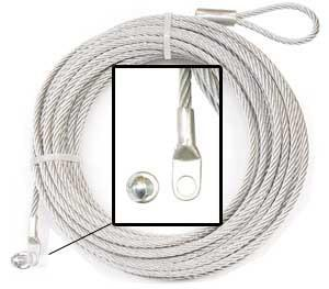 WARN WIRE ROPE ASSEMBLY