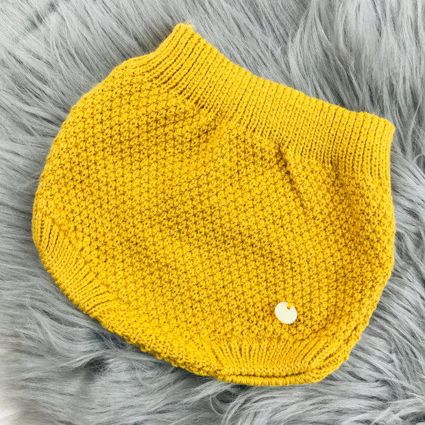 Mustard Knitted Jam Pants