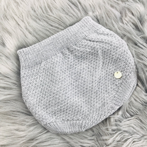 Grey Knitted Jam Pant