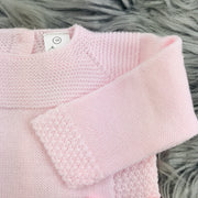 Pink Knitted Top Close